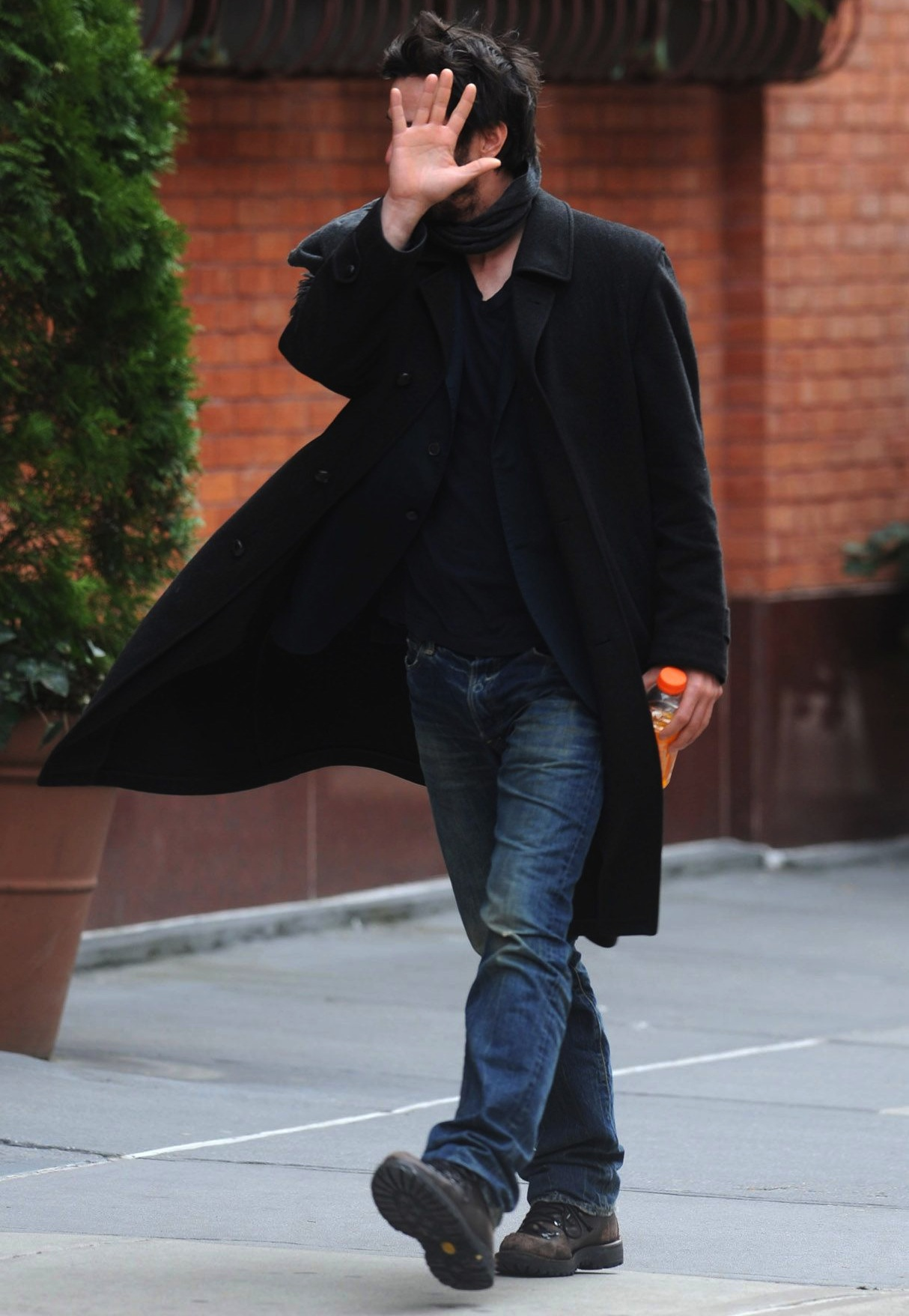 Actors Coats Keanu Reeves Mens Fashion Street Style